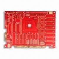 Wholesale 11-layer Gold Finger PCB with Red Solder Mask Feature, Made of FR4 from china suppliers