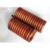 Wholesale C12000 / C12200 Copper Tube Coil Heat Exchanger for Water Tank from china suppliers