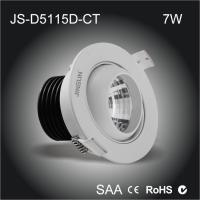 Wholesale High quality Al6063 made chimney shape heat sink 7W led eyeball cob downlight from china suppliers