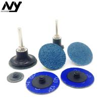 Wholesale 36# 80# Roloc Sanding Disc For Drill , Fine Grit Sanding Discs 3 Inch General from china suppliers