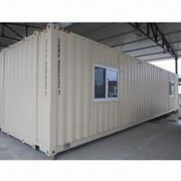 Buy cheap Container house, waterproof, long lifespan, environment-protection, flexible assembly from wholesalers