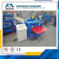 Wholesale Building Material Aluminum Roof Glazed Tile Roll Forming Machine For Gardens , Factories from china suppliers