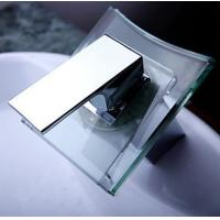 Quality 3 RGB Color LED Lighted Waterfall Sink Faucet for sale