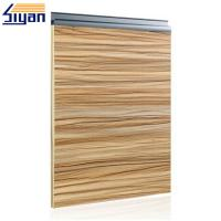 Wholesale Wood Grain Modern Bathroom Cabinet Doors Sliding Open With 57mm Width from china suppliers