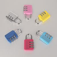 Wholesale Colorful Resettable Combination Padlock / Outdoor Combination Lock 3 Digit from china suppliers