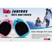 Wholesale Fashion mini 3000mAh waterproof solar charger for mobile phone from china suppliers