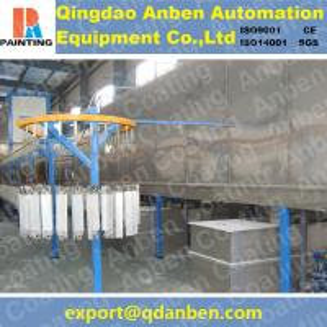 Quality electrostatic powder coating line for sale