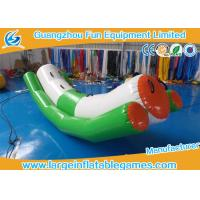 Wholesale PVC Tarpaulin Toddler Inflatable Teeter Totter Toys For Water Sport Games from china suppliers