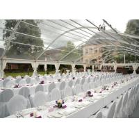Wholesale Transparent PVC Tent Frabic Marquee Tents For Party / Wedding 10m * 20m from china suppliers