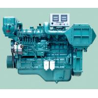 China Automatic Turbocharged Marine Diesel Engines With Diesel Fuel Injection on sale