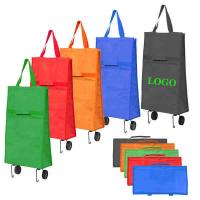 Wholesale Trolley Shopping Bag with Wheels from china suppliers