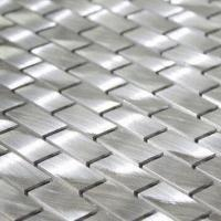 Wholesale Aluminum Alloy Mosaic for Inner Decorations with Eco-friendly Feature and Strong Metal Texture from china suppliers
