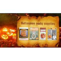 Wholesale Die Cut Cellophane halloween treat bags Handle For Hallowmas Party from china suppliers