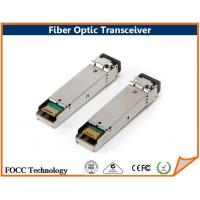 Wholesale Multimode BiDi LC SC Fiber Optic Single Fiber SFP Transceiver 1.25Gbps with SMF from china suppliers