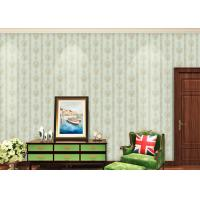 Wholesale European Style Floral Beige Non Woven Wallpaper for house decoration from china suppliers