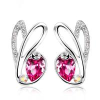 Wholesale Ref No.: 405002 Rabbit artificial earrings online shopping Elements Swarovski site custom jewelry design from china suppliers