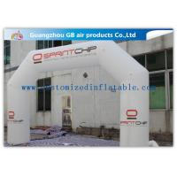 Wholesale White Inflatable Arch Rental Advertising Arch for Events / Activity from china suppliers