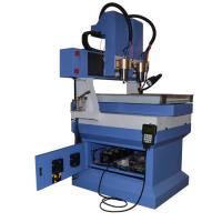 Wholesale Granite marble stone cnc router machine with smaller worktable and 2 heads from china suppliers