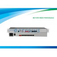Wholesale 19 inch 1U 8 E1 PDH Multiplexer 120ohm Full Duplex Auto - Negotiation from china suppliers
