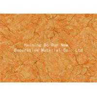 Wholesale Yellow Pet Heat Transfer Film Hot Stamping Foil For Wall Panel Good Effect from china suppliers