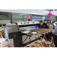 Wholesale Max 4cm Height Flatbed Roll to Roll UV Printer with Positive Negative Pressure Cleaning System from china suppliers