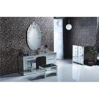 Buy cheap Mirrored Furniture Bedroom Dresser Set Home Decor Mirror Dresser Stool from wholesalers