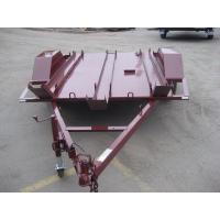 Wholesale 6x4 Tandem Flatbed Trailer For Two Motor Bike Transport Australian Style from china suppliers