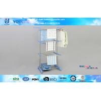 Wholesale Detachable Stainless Steel Metal Clothes Hangers / Mobile Free Standing Laundry Airer from china suppliers