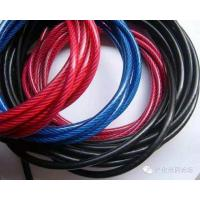 Wholesale 7x7 Nylon Coated Steel Cable Galvanized Fencing Hoisting Mining Cableway from china suppliers