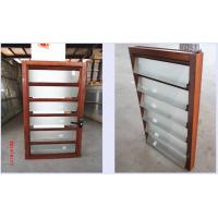 Wholesale Glass Vertical Louvered Window Shutters Interior Double Toughened Glazing from china suppliers