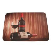 Wholesale Durable Custom Rubber Bar Runner , Promotion Rectangular Mat from china suppliers
