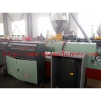 Buy cheap wood and plastic composite solid foamed board extrusion line thickness 25mm-40mm , hard surface from wholesalers