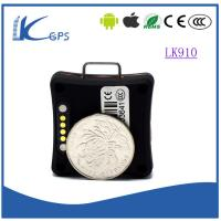 Wholesale Best selling High accuracy gps tracker for kids/prisoner/personal gps tracking device real-time tracking-Black LK910 from china suppliers