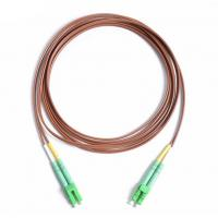 Wholesale Patch Cord Fiber Optic Jumper LC/APC-LC/APC DX 2.0mm 2M LSZH Brown Cable from china suppliers