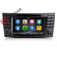 Wholesale Auto Radio Double Din Gps Car Stereo , Mercedes E Class Dvd Player Built In SD Port from china suppliers