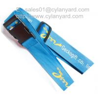 Wholesale Polyester travel bag belt for secure packing, secure travel luggage straps, from china suppliers