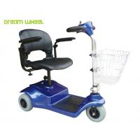 Wholesale Lightweight 24V Electric 3 Wheel Mobility Scooter 8Km / H For Disabled from china suppliers