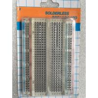 Wholesale Half - Size 400 Point Transparent / Clear Breadboard For Experimentation from china suppliers