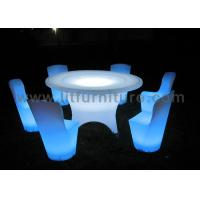 Wholesale 6-10 People Using LED Lighting Big Banquet Table With Chairs For Dinner Party from china suppliers