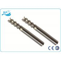Wholesale 55 - 65 HRC 2 Flute End Mills For Aluminum Slotting Dia 1mm - 25mm from china suppliers