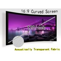 Wholesale 3D Projector Home Theatre Projection Screen / Front Fixed Frame Projection Screen from china suppliers
