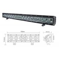 Wholesale Brightest Offroad LED Spot Light Bar 12V 90W Aluminum Waterproof from china suppliers