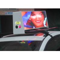 Wholesale 6500nit Digital  Led Car Message Sign , Full Color Led Sign Low Power Consumption from china suppliers