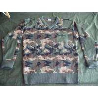 Wholesale Military Camouflage Pullover Sweater Jersey from china suppliers