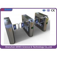Wholesale High quality Retail Outlets Gyms Aquatic Centres entrance  control swing barrier gate turnstile from china suppliers
