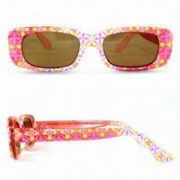 Wholesale Kid's Sunglasses with Scratch-resistant Coating on Lens, Non-toxic and Lead-free from china suppliers