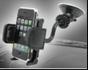 Wholesale Anti - Temperature Black Car Mobile Phone Holders With Compact Design from china suppliers