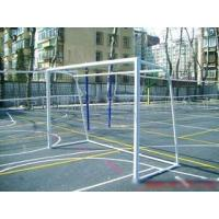 Wholesale School Movable Portable Football Goals 5m×2m Steel For 7 People Playing from china suppliers