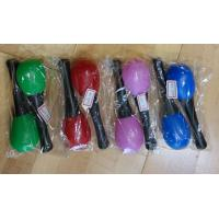 Wholesale Plastic Kids Musical Instrument Cute Colored Orff Plastic Maracas from china suppliers