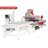 Wholesale ELE 1330 Multi - Head CNC Router for furniture making , automatic wood door making machine from china suppliers